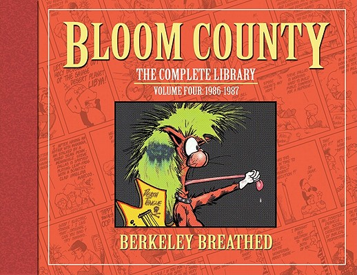 The Bloom County Library 4 By Breathed, Berke
